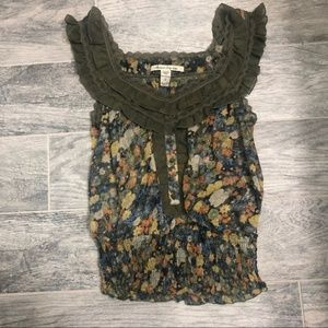 American Rag Floral Blouse - S